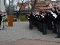Franckesche Stiftungen Halle, Kranzniederlegung am Denkmal