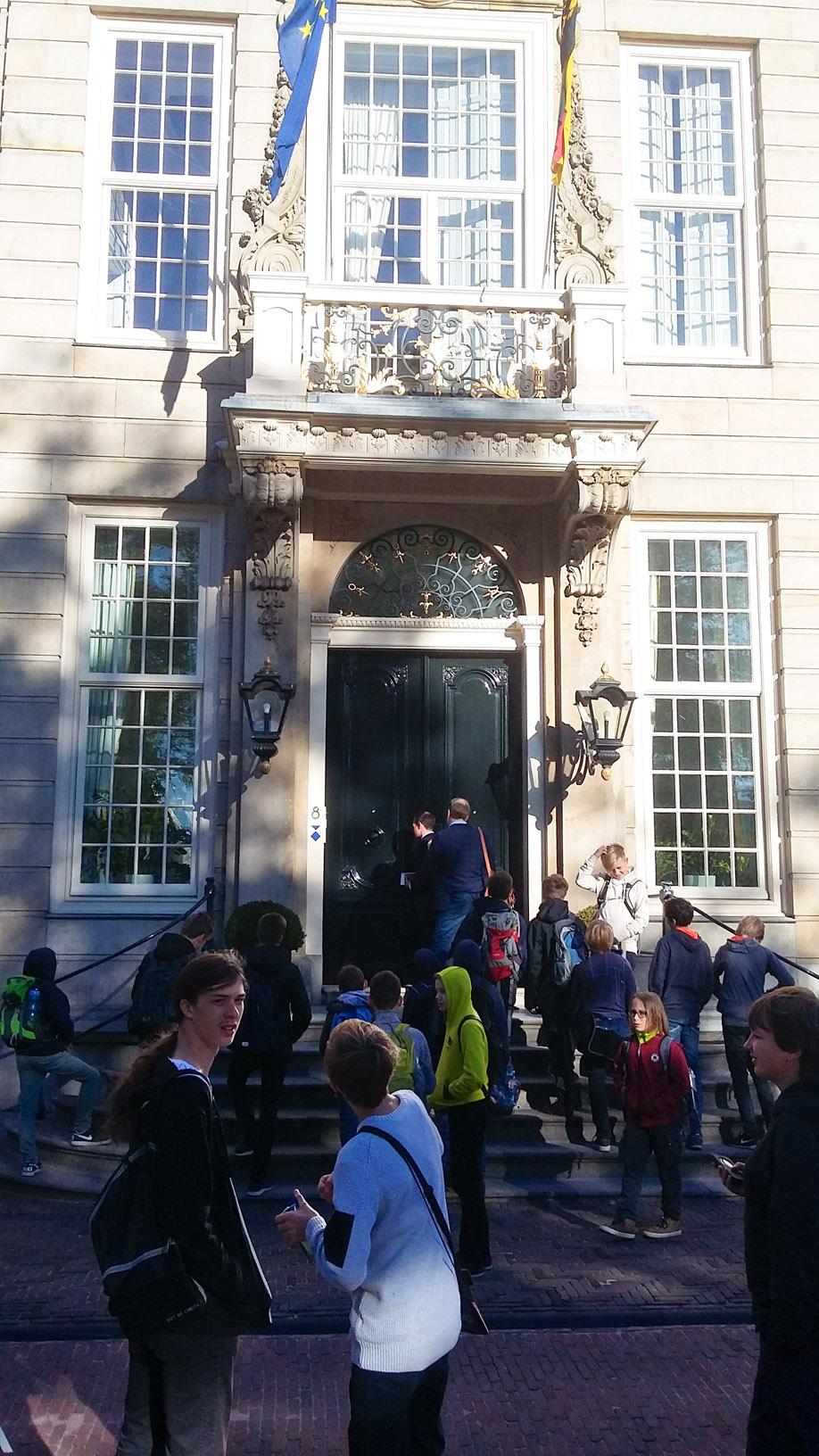 Die Deutsche Botschaft in Den Haag