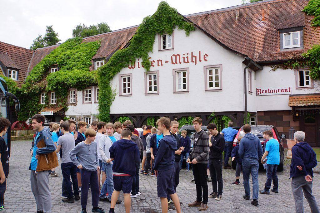 Mittagspause Fulda