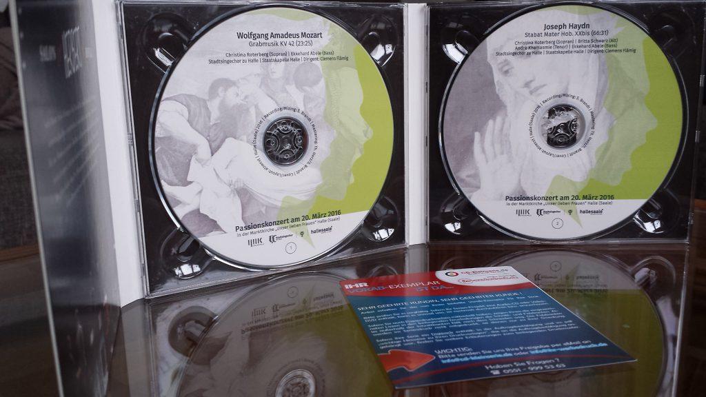 Passionskonzert Vorab-CD