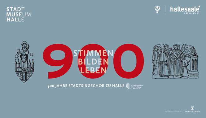 Einladung Ausstellung 900 Jahre Stadtsingechor