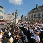 Der Stadtsingechor bei den Händel-Festspielen Halle 2019